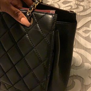 CHANEL Bags - Authentic Chanel large Blizzard flap bag